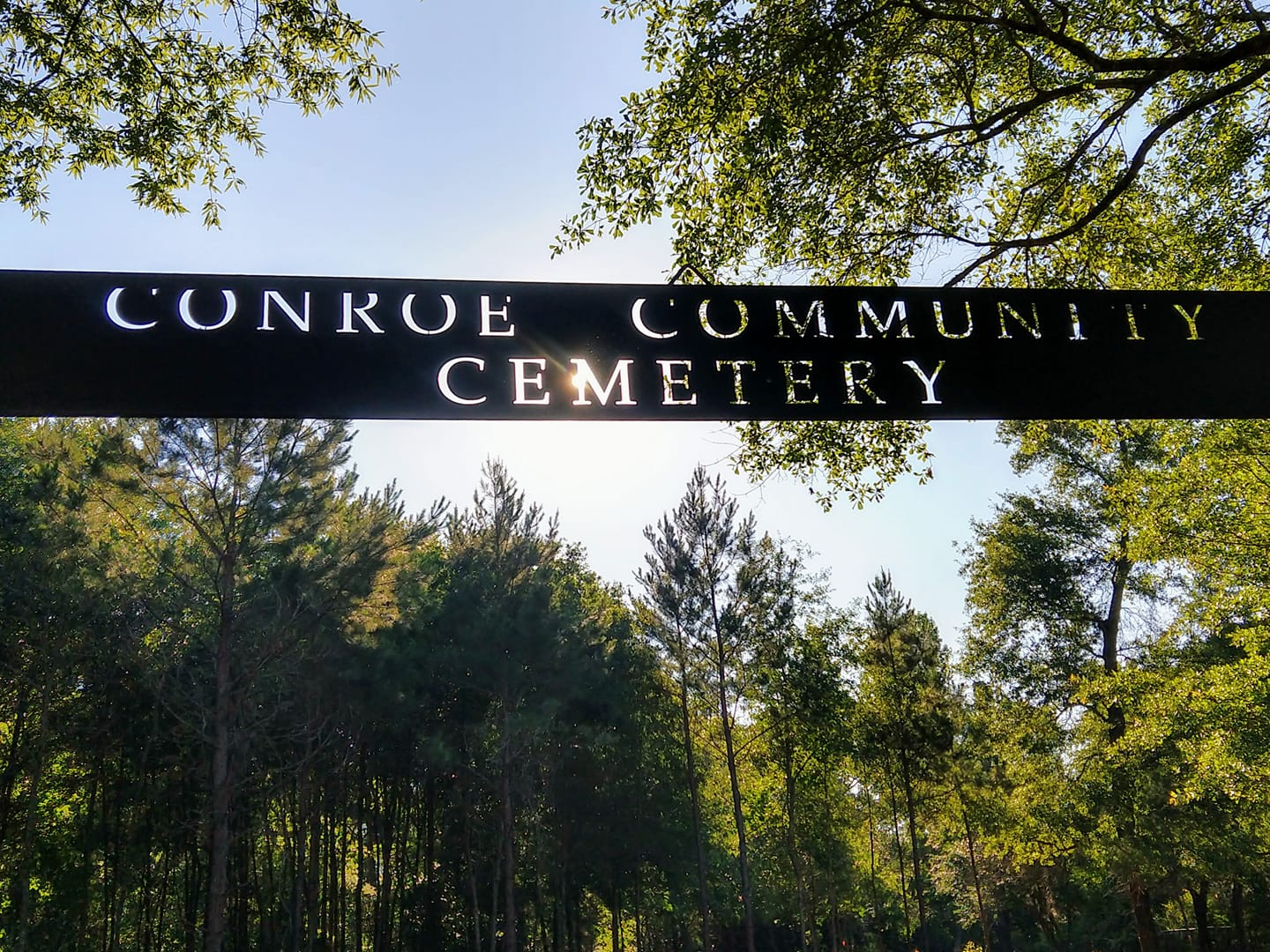 Sign Dedication and Cemetery Cleanup, November 7, 2020