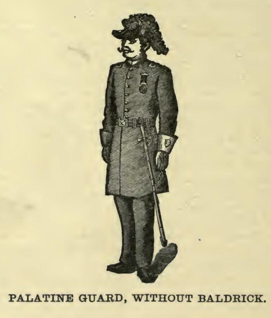 Palatine Guard, without baldrick